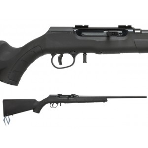 SAVAGE A22R 22WMR MAGNUM F BLUED SYNTHETIC 10 SHOT