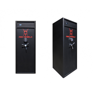RED SHIELD GUN SAFE BACK IN STOCK